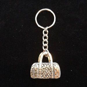 Vera Bradley Classic Handbag Metal Keychain